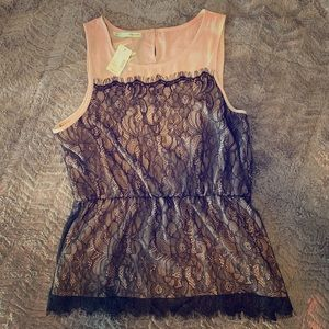 NWT!! Maurice's lace top.